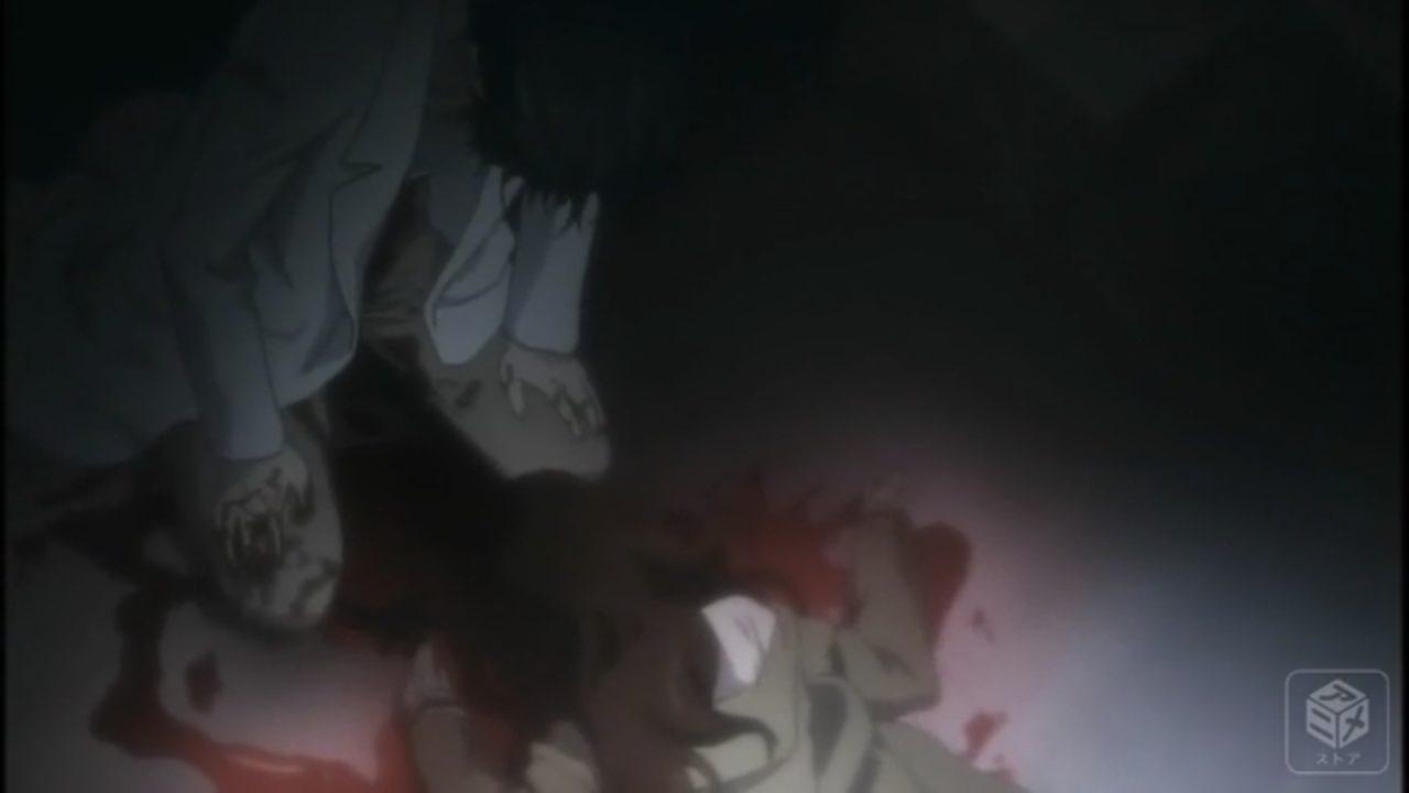 倒れた紅莉栖を見る8月21日の岡部